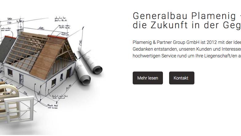 Plamenig & Partner Group GmbH – Webseiten Re-Design ist online!