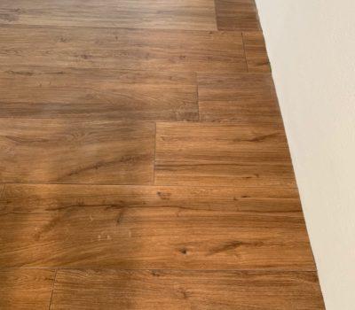 Keramik: Optik Holz Parkett verlegen und verfugen EFH